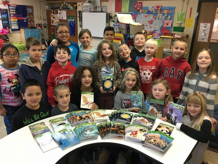 Author Of Magic Treehouse Books Part - 34: Mary Pope Osborne, Beloved Author Of The Magic Tree House Books, Developed  Her Gift Of Books Program In Order To Get Books Directly Into The Hands Of  ...